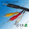 Environmental standard ROHS digital audio to rca cable