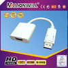 Displayport DP to VGA adapter cable