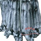 natural color sliver fox fur skin