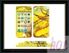 high quality durable full body color skin sticker for iphone4