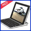 Factory Price Aluminum Bluetooth Keyboard for Google Nexus 7 with Germany, Italy, Russian Languages