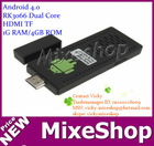 UG802 Mini google android tv box Android 4.0 RK3066 Dual Core HDMI TF 1G RAM/4GB ROM