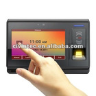 "Fingerprint Access Control System & time attendance with 7"" Touch Screen, TCP/IP, WIFI, GPRS"