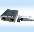 gigabit media converter/GIGA SFP Media converter 40km