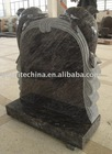 Russian style granite monument