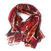 Fashion Lady's Voile Printed Scarf