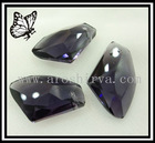 crystal pendant ax shape