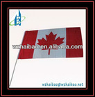Promotion polyester hand flag