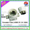 LH595 (R 1/4 100A) ! Porcelain/Ceramic FUSE! fuse carrier
