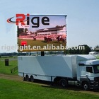 LED Rolling curtain screen/LED display/led display screen/display screen