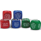 foam dice set