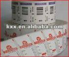 2012 hot custom die cutting adhesive sticker