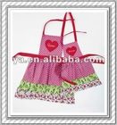2012 new design and hottest pink apron-NW04