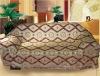 Jacquard Tartan Design Chenille Sofa Cloth Fabric SF008