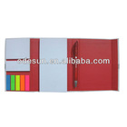 Hard cover notebook with magnet closed
