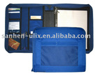600D NYLON 3-RING BINDER ZIPPER FOR STUDENT,