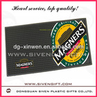 Large LOGO with you branded logo printed bar mats