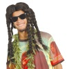 Party men rasta wigs/ Cheap fancy wig MPW-0988