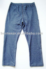 10pcs/lot 2011new style dark blue cotton women`s jean leggings,tight pants,basic legging Q0002