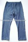 10pcs/lot 2011new style dark blue cotton women`s jean leggings,tight pants,basic legging Q0002