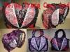 lace corset handbag,gothic bag