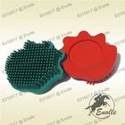Rubber Palm Pet Grooming Massager Brush For Dog