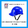ABS/PP/PE Eur-American type Safety helmets
