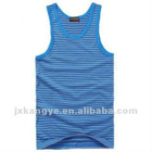 100%cotton men's stripe vest