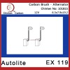 Autolite EX 119 Alternator carbon brushes replacement