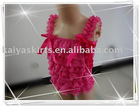hot pink lace TOP