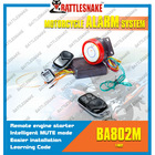 Intelligent mute and waterproof function one way Motorcycle alarm system