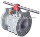 Fully Lined Plug Valve (Plug Valve,Fully Lined Valve)