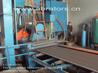 Shot Blasting Equipment Used To Clean Square Pipe