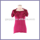 2012 style lady top sexy woman clothing