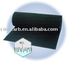 activated carbon fibre needle felt