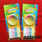 Wholesale Paraffin Spiral Taper Candles