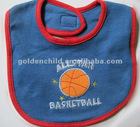 cute basketball baby for bib