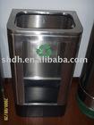 stainless steel wastebin