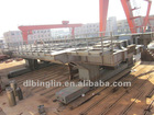 steel framing joist of large machine