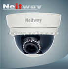H.264 720P half dome ip cameras with night vision