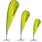 Flying Banner display banner display stand