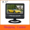 wholesale 9.5 inch TFT LCD color Analog TV with wide view angle, Support SD/MMC Card, USB Flash disk/free shipping