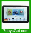 "8508 HD Screen 800 x 480 5.0"" Car GPS Navigation System 4GB 500MHz With IGO Map Software WINCE6.0 + Free Shipping"