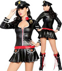 leather cop police costumes