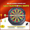 Magnetic dartboard with LED