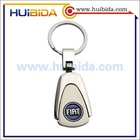 high quality shiny silver key chains