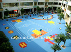 Eco friendly outdoor indoor playground flooring