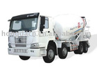 Truck mounted Concrete Mixer 9m3(STEYER)