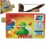 Customized Logo Printing Credit Card Usb