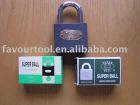 Grey iron padlock iron keys